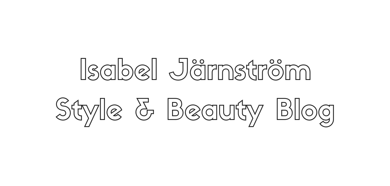 Isabel JarnstromStyle and Beauty Blog